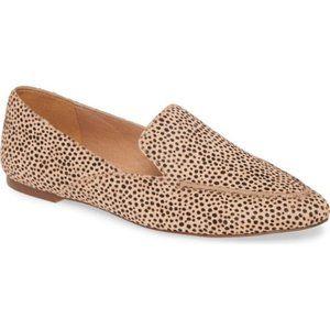 NIB Madewell Frances Skimmer Spotted Loafer 7.5